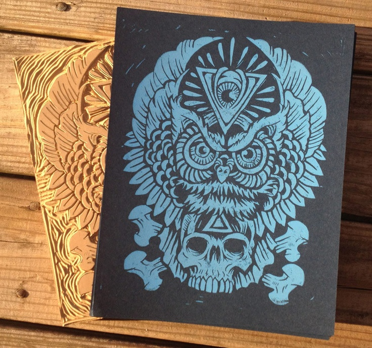 Totem of Wisdom - Nightshade Edition, via Etsy.