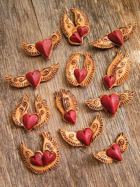 Winged Heart Pendants | Flickr - Photo Sharing!