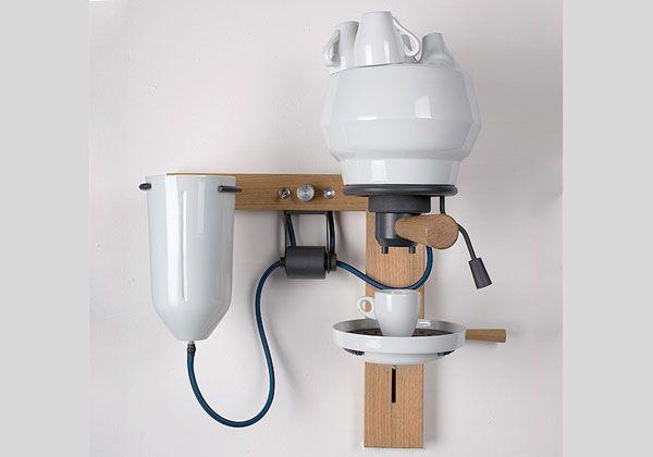 Arvid Häusser ha realizzato un prototipo funzionante di macchina per il caffè espresso usando la porcellana, un materiale atipico per questo...