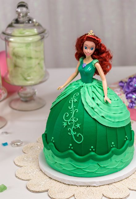 Learn How To Make This Gorgeous Disney Princess Ariel Doll