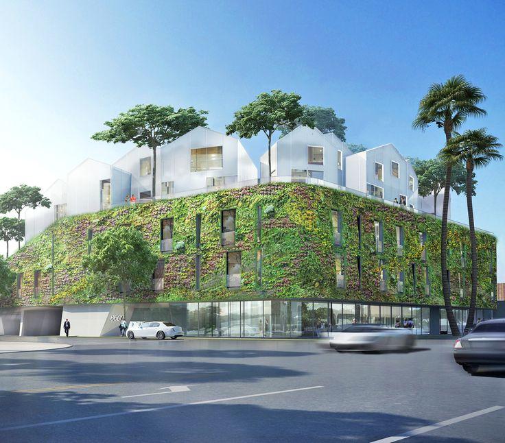 332 Best Green Facades Images On Pinterest Green Walls