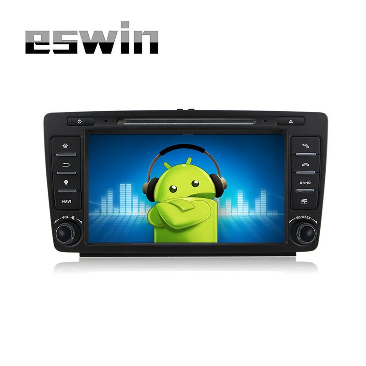 """8"""" Quad-Core Android 5.1.1 OS Special Car DVD for Skoda Octavia 2009 2010 2011 2012 2013 with External DAB+ Receiver Box Support"""