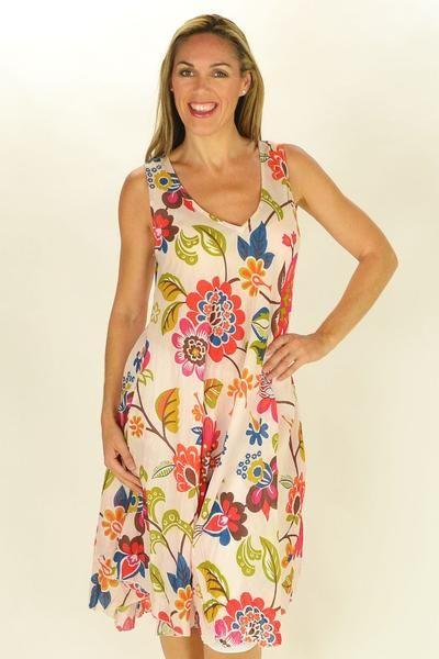 Floral Suzie Tunic