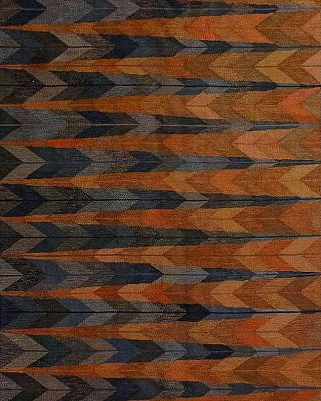 INGRID DESSAU, Feathers (Fjädrar), flatwoven rug in tapestry technique. Handmade by Östergötlandsläns Hemslöjd, 1962. Material hand-woven wool on linen warp. / Barnebys    #feathers #ingriddessau #flatwovenrug #rug #carpet #textile #textileart #art #design #graphicdesign #1950s #MCM #midcenturymodern #scandinavianmodern #scandinaviancollectors #swedishdesign #wool #linen #barneby's