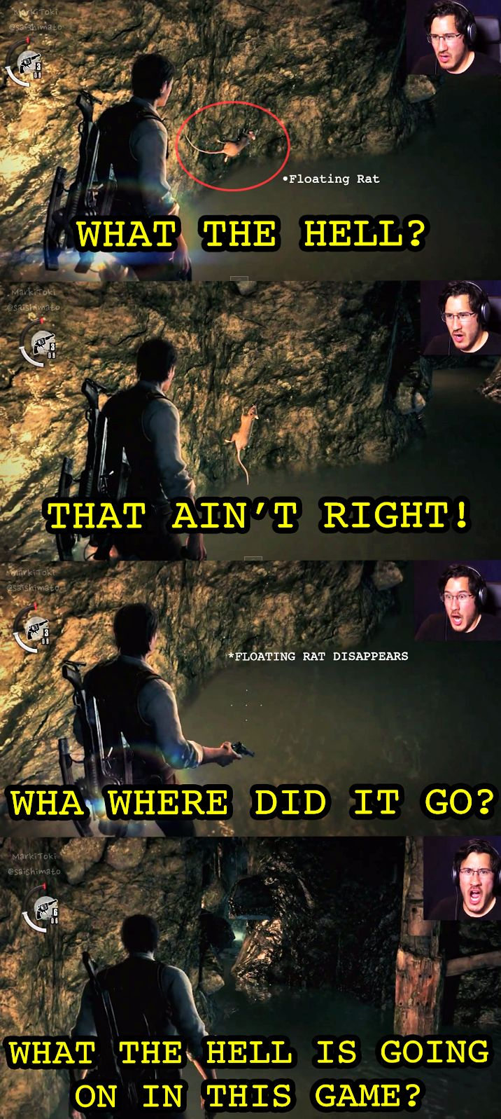 Markiplier playing The evil within, Possibly the best game reactions ever haha!!!