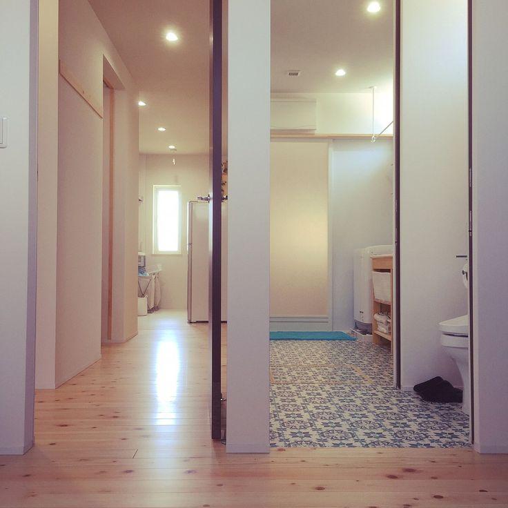 寝室/洗面所…などのインテリア実例 - 2016-07-29 22:46:36 | RoomClip ... 女性で、Otherの寝室/洗面所/サンゲツ/ヒノキの床/