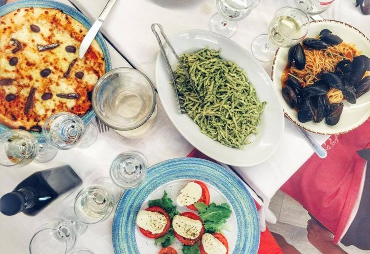 Italian obsessions in Italy. Pesto sauce is