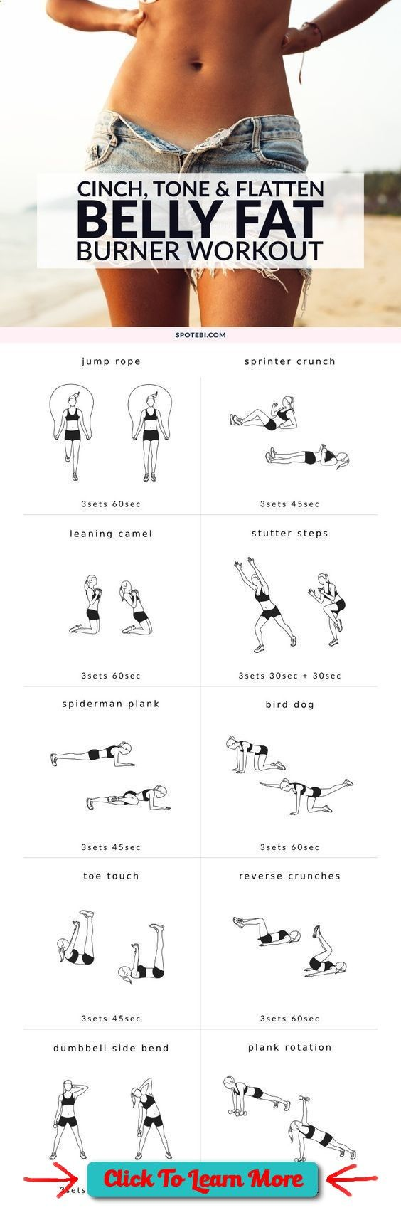 See more here ► www.youtube.com/... Tags: tips for teens to lose weight, tips for losing weight, good tips for losing weight fast - Flatten your abs and blast calories with these 10 moves! A belly fat burner workout to tone up your #health #fitness #weigh http://weightlosssucesss.pw/the-5-commandments-of-smart-dieting/ (fat burner)