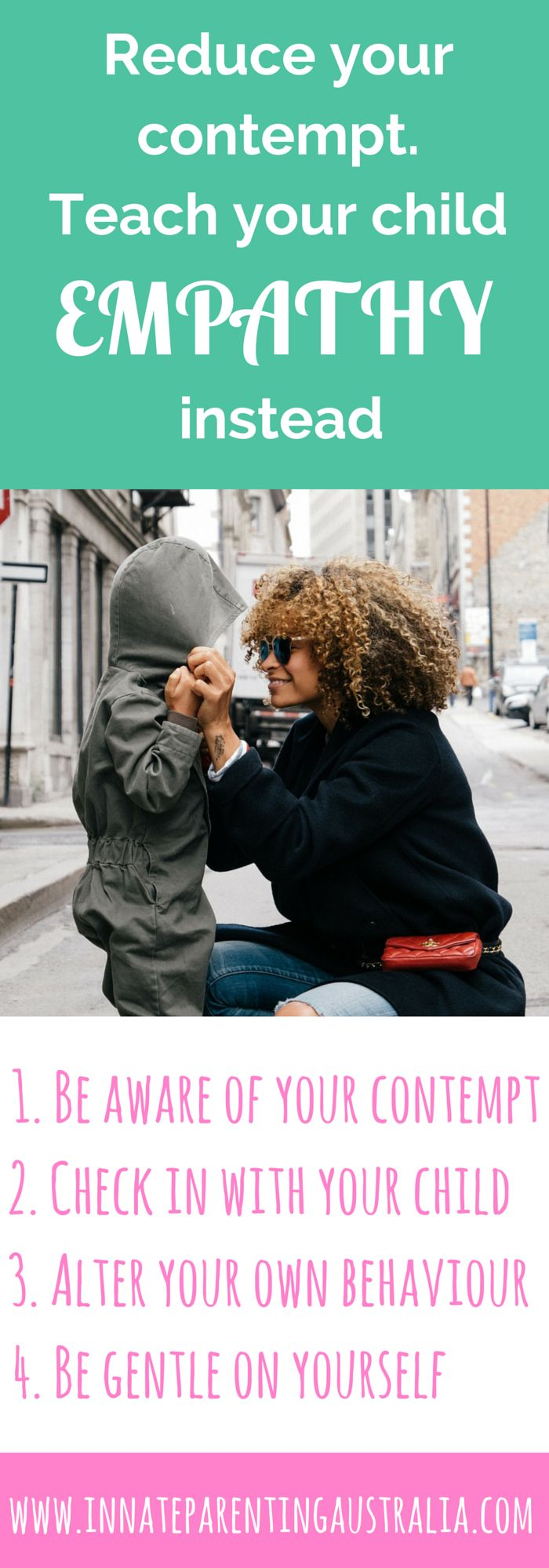Why contempt can break your relationship with your child, and what to do instead. Stop the huffing, puffing and eye rolling - go for a gentle parenting approach and show empathy instead.