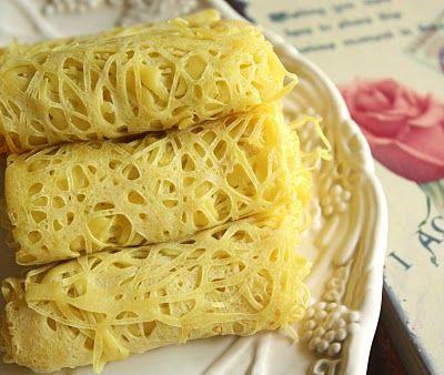 Malaysian Lace Pancakes