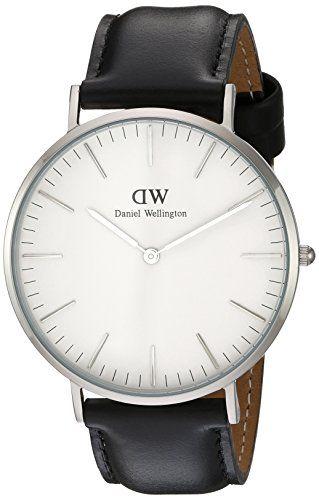 Daniel Wellington Herren-Armbanduhr XL Sheffield Analog Quarz Leder 0206DW - http://uhr.haus/daniel-wellington/blanco-daniel-wellington-uhr-classic-sheffield-2