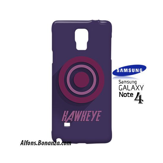 Hawyeke Superhero Samsung Galaxy Note 4 Case