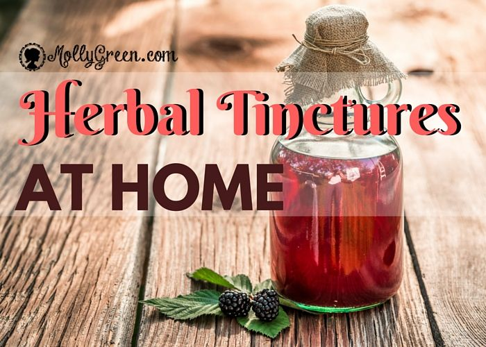 Making a Glycerin-Based Herbal Tincture