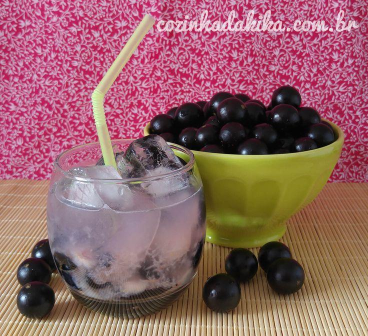 Uma bebida que eu amo + uma fruta que eu amo