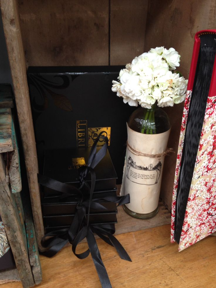 All our handcrafted books come in our signature black gift box. www.sblibris.com.au