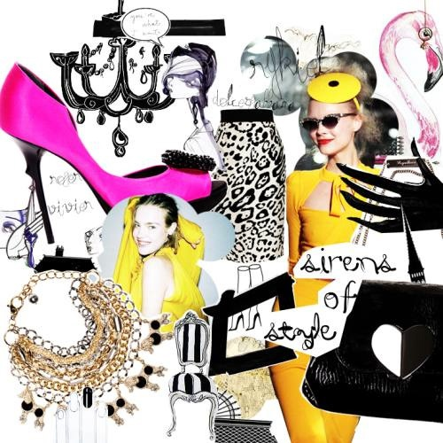 66 Best FASHION COLLAGE Images On Pinterest