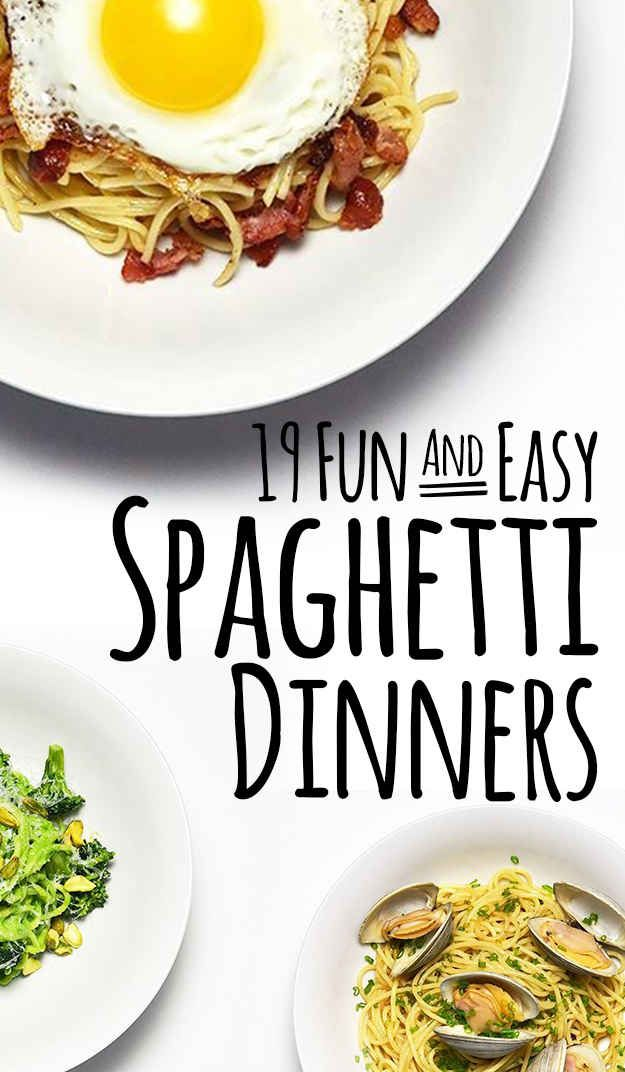 More spaghetti dinners here:
