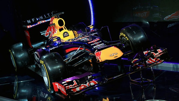 RB9, o novo carro da Red Bull -