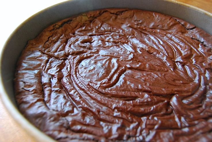 How to make brownies with a shiny crust - 3