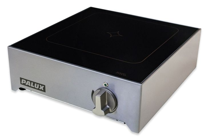 PALUX CompactLine Induktionsherd -  Mit dem Induktionsherd aus der PALUX CompactLine arbeiten Köche im Aktionsbereich besonders schnell und flexibel.