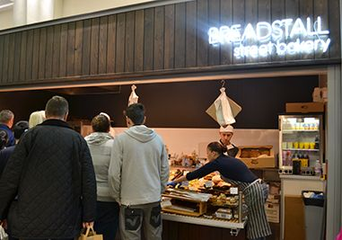 Breadstall | Woking Market Stall