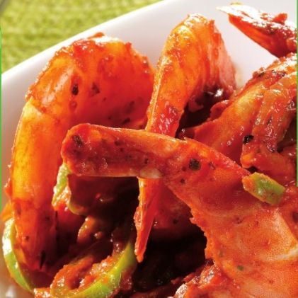 Spicy Creole Shrimp -- ActiFry recipe