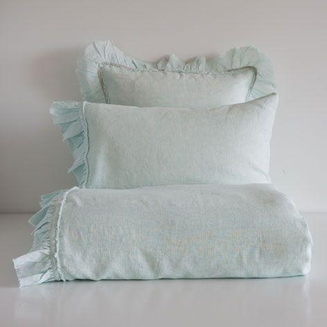 LINEN FRILL BED LINEN - Bed Linen - Bedroom | Zara Home Russian Federation