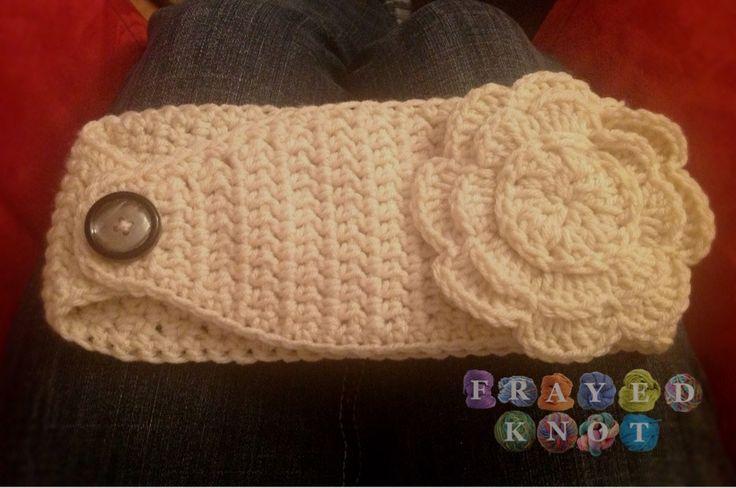 CROCHET - HEADBAND / BANDEAU SERRE-TÊTE / HOOFDBAND - FREE - Free Crochet Easiest Headwrap Ever Pattern.