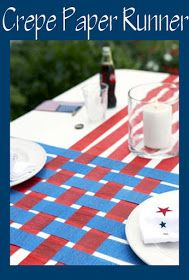 It's Written on the Wall: Amazing 4th of July Crafts, Decorations and Desserts