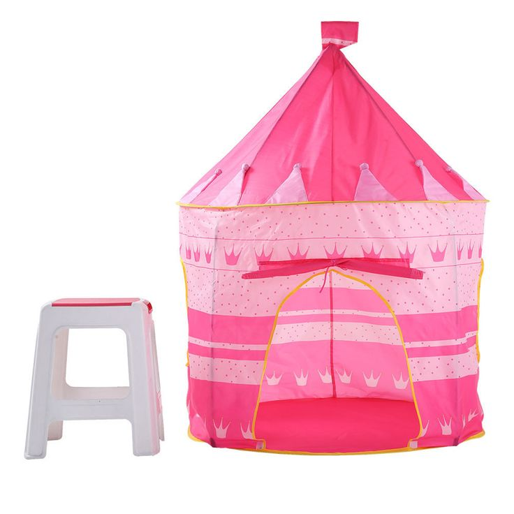 Portable Folding Pink Play Kids Pop Up Tent Castle House Fun Girl Princess | Baby, Baby Gear, Play Shades & Tents | eBay!