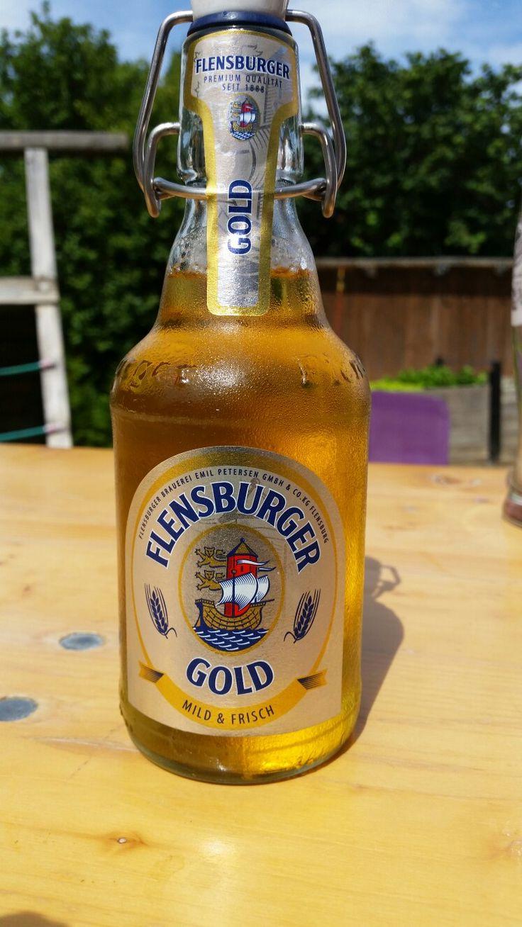 Flensburger Gold. Flensburg, Schleswig-Holstein, Germany