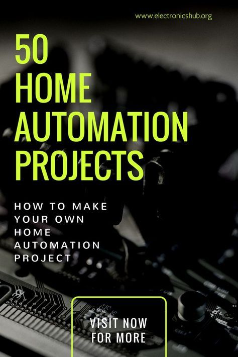 50 Latest Home Automation Projects For Engineering Students in 2018