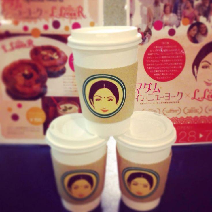 Coffecups while screening of movie English vinglish...@ tokyo