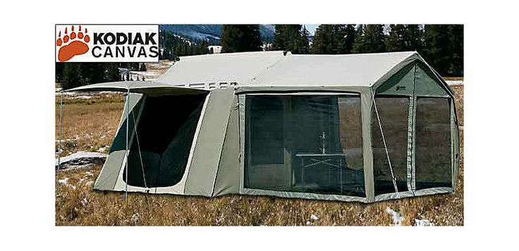Kodiak Canvas Cabin Tent with Awning at Cabela's | Off the ...