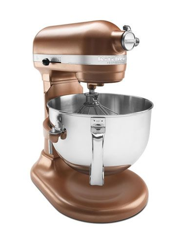 With a beater, whisk, dough hook, and pouring shield included, the KitchenAid Bowl Lift Professional 600 Series Stand Mixer KP26M1X ($499.99) will have you set for your next big baking day.