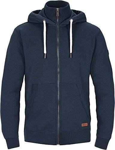 SOLID Herren Jacke TOTO Sweatjacke Sweater Kapuzenjacke Zip Hoodie Zipper  Männer Kapuze Baumwolle Einfarbig Reißverschluss ea7b208256