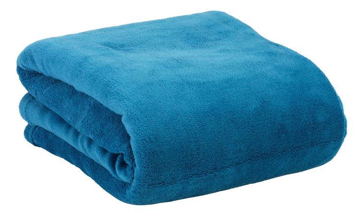 Mikrokuituhuopa BELLIS 140x200 sininen | JYSK. Ale 10e