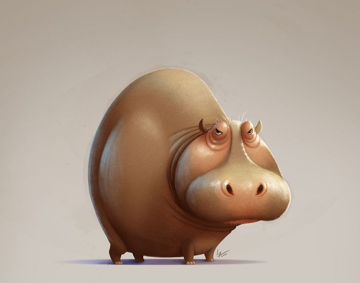 animal character design by Eran Alboher on ArtStation.