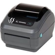 """ZEBRA GX420T 4"""" Thermal Transfer ETHERNET Desktop label printers"""