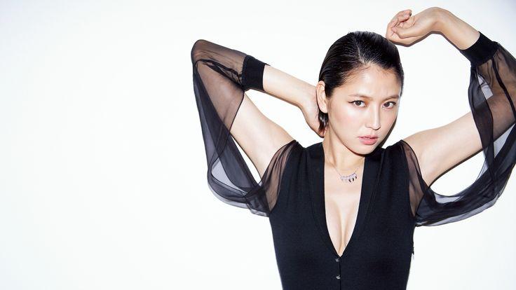 長澤まさみ // Masami Nagasawa IQUEEN - Ague
