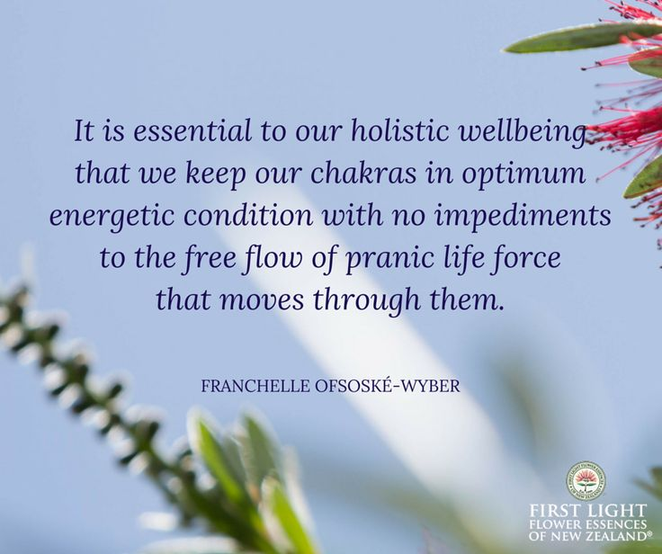 Chakras, the wheels of energy through which life force (prana, chi) flows, are an energetic matrix through which body, mind and spirit work as one integrated holistic system. It is essential to our holistic wellbeing to keep the chakras clear, strong, protected and in perfect balance.
