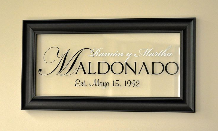 Personalized Picture Frame With Family Name Quote Family: 25+ Best Ideas About Personalized Picture Frames On