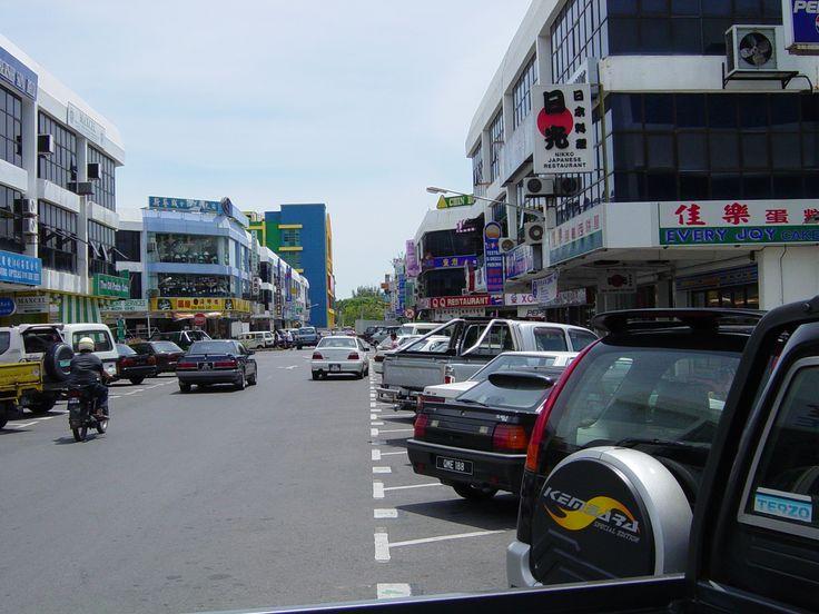 Miri, Malaysia, on the island of Borneo