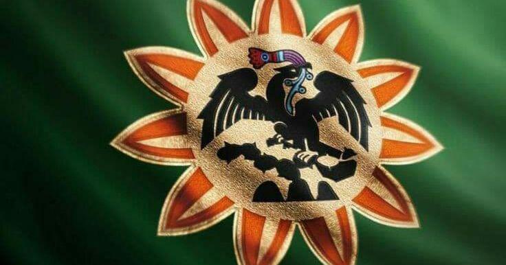 Según la historia de los Estados Unidos Mexicanos transmitida por la SEP, los mexica seguían a Huitzilopochtli, el Dios de la Guerra, quien les ordenó fundar la ciudad donde vieran un águila sobre un nopal, devorando una serpiente.  Sin embargo, en la mexicanidad les comunicamos a los mexicanos como una corrección de la historia, que no existe ningún amoxtli (códice) o glifo precuauhtemico con la imagen de un águila devorando una serpiente. En su lugar, la Bandera de Cuitláhuac muestra a un…