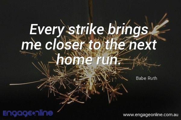 #inspiration #motivation #quote | engageonline.com.au | fb.me/engageonline.au | Social media marketing | Digital marketing for business | Online marketing for business