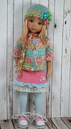 http://www.pinterest.com/ladyarwen/doll-clothing/ Over 2,000 pins, beautiful doll clothes. MANY links to free patterns. Not this one, but would be cute AG: