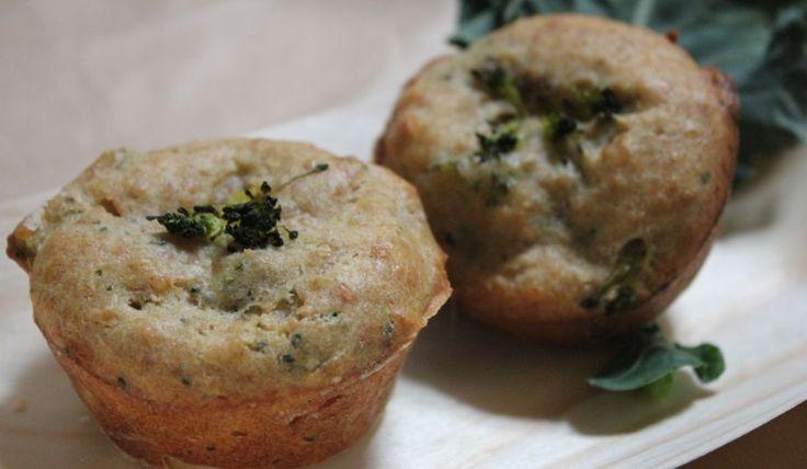 oppskrift på Matmuffins med skinke og brokkoli