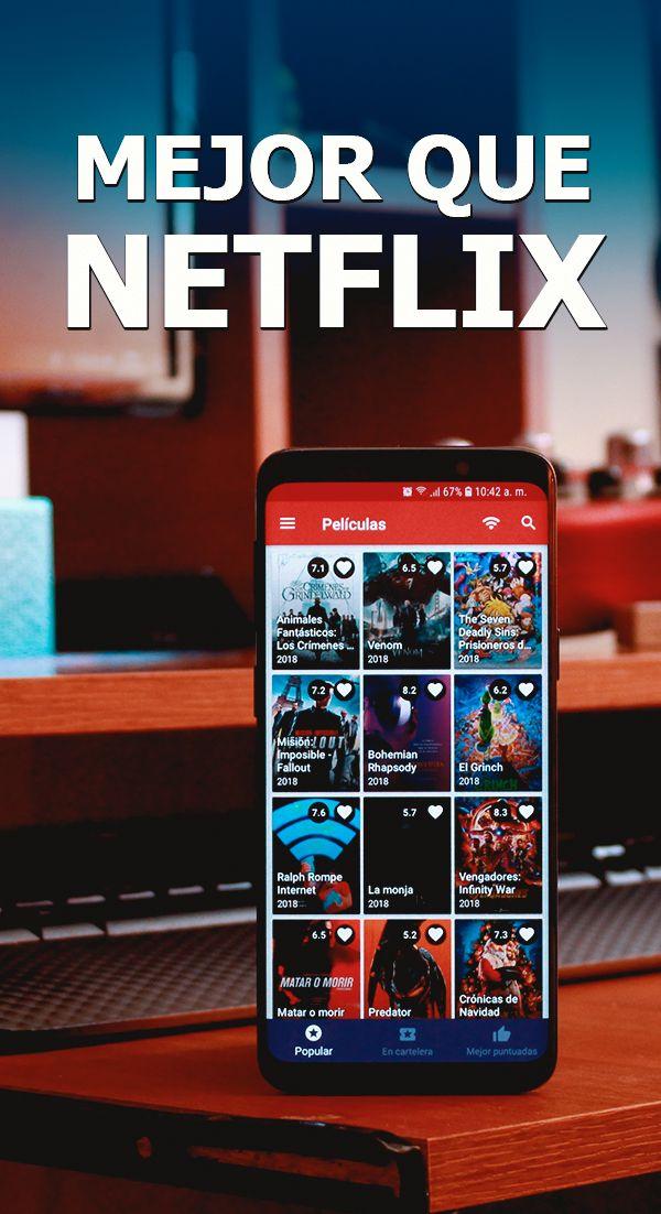 App Mejor Que Netflix Ver Peliculas Gratis Peliculas Y Series Gratis Peliculas En Netflix