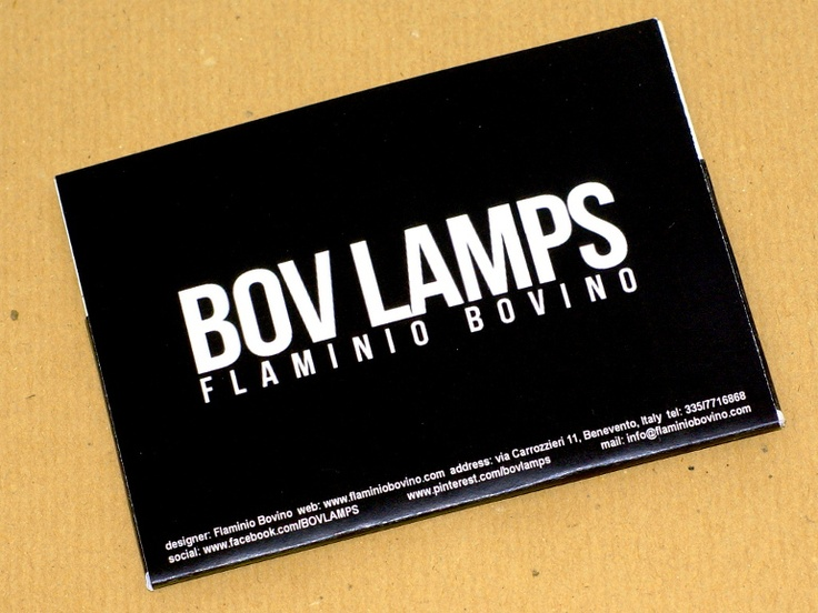 Zep Lamp leaflet.  Depliant pubblicitario per la lampada Zep.
