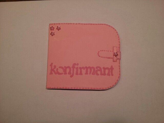 Lommebokkort til konfirmant